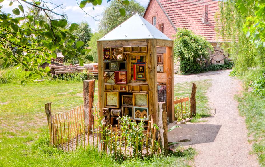 Art4bees - ein Haus für Wildbienen