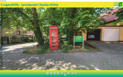 Nackte Mühle als virtueller Lernstandort